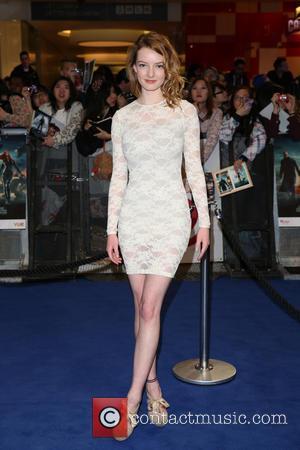 Dakota Blue Richards - Captain America: The Winter Soldier - UK film premiere held at Westfield - Arrivals - London,...