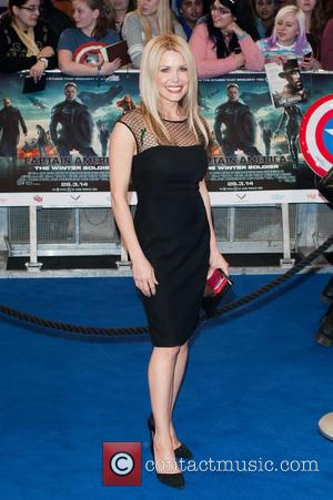 Melinda Messenger - 'Captain America: The Winter Soldier' film premiere held at the Vue Westfield - Arrivals. - London, United...