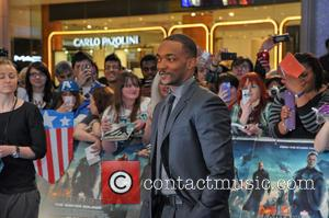 Anthony Mackie - UK Premiere of 'Captain America: The Winter Soldier' at Westfield - London, United Kingdom - Thursday 20th...