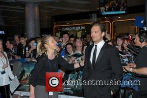 Sebastian Stan - UK Premiere of 'Captain America: The Winter Soldier' at Westfield - London, United Kingdom - Thursday 20th...