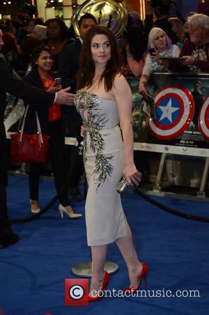 Hayley Atwell - 'Captain America: The Winter Soldier' UK Premiere at Westfield - Arrivals - London, United Kingdom - Thursday...