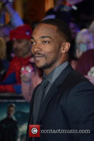 Anthony Mackie Injured His Back During Captain America Flying Scenes
