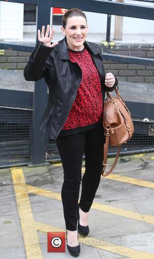 Sam Bailey - Sam Bailey outside the ITV Studios - London, United Kingdom - Thursday 20th March 2014