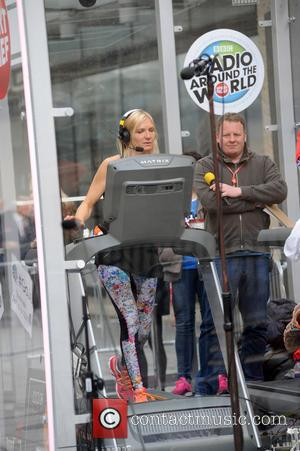 Jo Whiley - Jo Whiley running a 26 hour treadmill marathon for Sport Relief. In between breaks the BBC Radio...