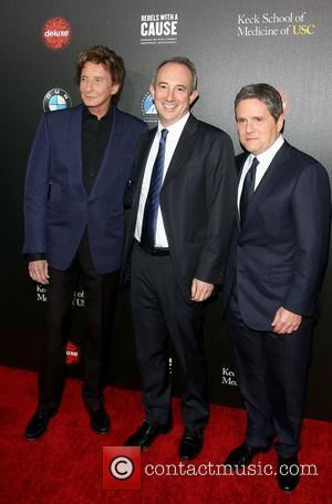 Barry Manilow, Dr. David Agus and Brad Grey