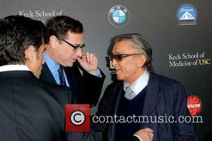 Bob Saget, Robert Evens and John Stamos - 2nd Annual 'Rebels With A Cause' Gala honoring Larry Ellison at Paramount...