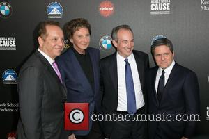 Dr. Carmen Puliafito, Barry Manilow, Dr. David Agus and Brad Grey