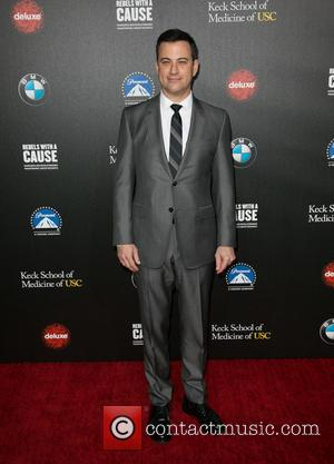 Jimmy Kimmel - 2nd Annual 'Rebels With A Cause' Gala honoring Larry Ellison at Paramount Pictures Studios - Arrivals -...