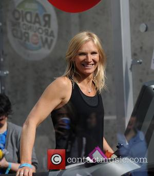 Jo Whiley and Sally Gunnell