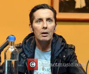 Christy Dignam - Aslan hold a press conference in Gresham Hotel to announce their return to live shows for the...