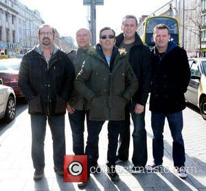 Aslan, Joe Jewell, Alan Downey, Christy Dignam and Rodney O'brien