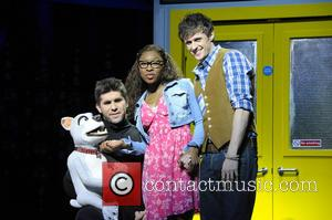 Simon Lipkin, Cynthia Erivo and Alan Morrissey - 'I Can't Sing! The X- Factor Musical' at The Palladium - London,...