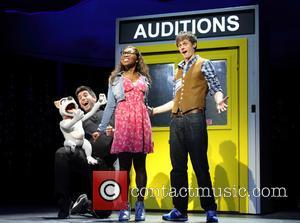 Simon Lipkin, Cynthia Erivo and Alan Morrissey - Photocall for the  X-Factor Musical