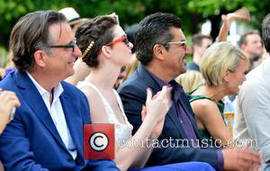 Andy Garcia, Anne Hathaway, George Lopez and Kristin Chenoweth - The stars of the animated family film 'Rio 2' attend...