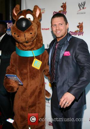 Scooby Doo, The Miz and Michael Mizanin