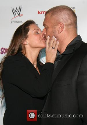 Stephanie McMahon and Triple H - The world premiere of 'Scooby-Doo! WrestleMania Mystery' held at Tribeca Cinemas - Arrivals -...