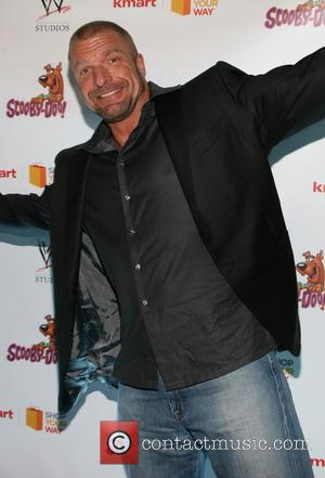 Triple H and Paul Michael Levesque - The world premiere of 'Scooby-Doo! WrestleMania Mystery' held at Tribeca Cinemas - Arrivals...