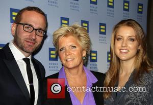 Chad Griffin, Meredith Baxter and Mollie Birney