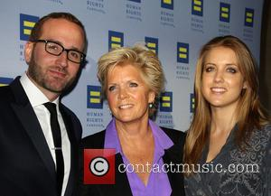 Meredith Baxter, Chad Griffin and Mollie Birney