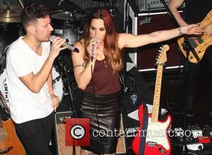 Mel C - Mel C performs live at Hard Rock Cafe Prague - Prague, Czech Republic - Saturday 22nd March...