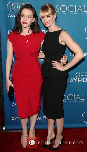 Kat Dennings and Beth Behrs - The Geffen Playhouse presents its annual Geffen fundraiser honoring The Walt Disney Studios Chairman,...