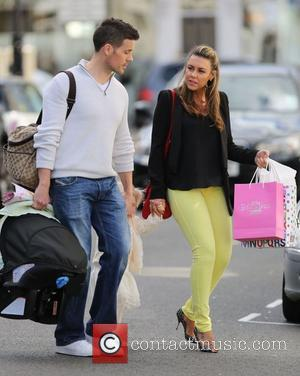 Michelle Heaton, Hugh Hanley, Faith Hanley and Aaron Jay Hanley