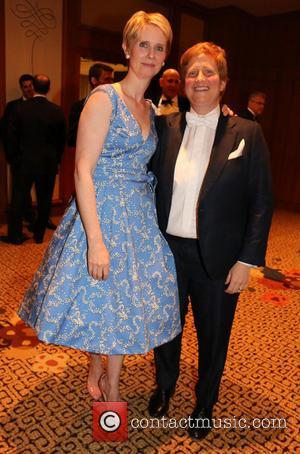 Cynthia Nixon and Christine Marinoni - The Inner Circle's 92nd Annual Charity Show held at New York Hilton - New...