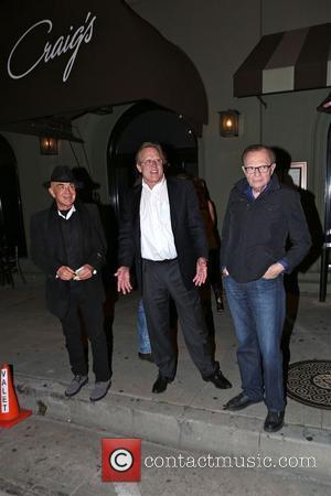Larry King and Robert Shapiro