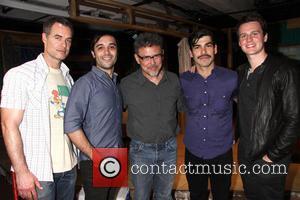 Murray Bartlett, Frankie J. Alvarez, Jose Rivera, Raul Castillo and Jonathan Groff