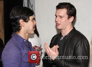 Raul Castillo and Jonathan Groff