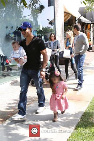 Mario Lopez, Joe Francis, Abbey Wilson, Courtney Mazza, Gia Lopez and Dominic Lopez