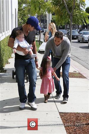 Mario Lopez, Joe Francis, Gia Lopez and Dominic Lopez