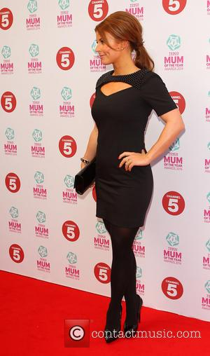 Colleen Rooney - Tesco Mum of the Year Award, red carpet arrivals at The Savoy in London - London, United...