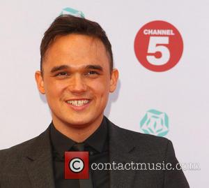 Gareth Gates - Tesco Mum of the Year Award, red carpet arrivals at The Savoy in London - London, United...