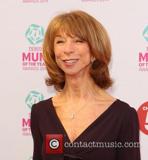Helen Worth - Tesco Mum of the Year Award, red carpet arrivals at The Savoy in London - London, United...