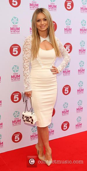 Ola Jordan - Tesco Mum of the Year Award, red carpet arrivals at The Savoy in London - London, United...