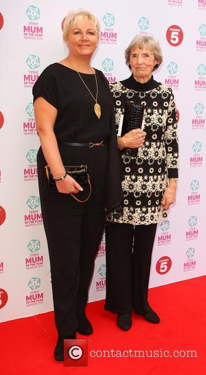Sue Cleaver - Tesco Mum of the Year Award, red carpet arrivals at The Savoy in London - London, United...