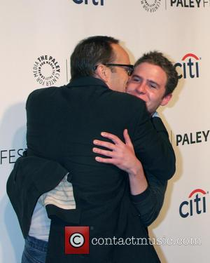 Clark Gregg and Ian De Caestecker - PaleyFEST 2014 Agents of SHIELD - Los Angeles, California, United States - Sunday...