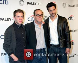Ian De Caestecker, Clark Gregg and Brett Dalton