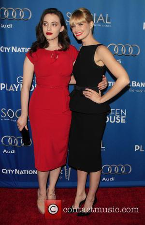 Kat Dennings and Beth Behrs - The Geffen Playhouse presents its annual Geffen fundraiser honoring The Walt Disney Studios Chairman,...