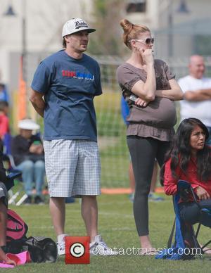 Kevin Federline and Victoria Prince - Kevin Federline and pregnant wife, Victoria Prince,  watch his son's soccer game -...