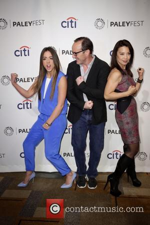 Chloe Bennet, Clark Gregg and Ming-na Wen