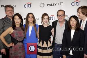 Jeffrey Bell, Ming-na Wen, Chloe Bennet, Elizabeth Henstridge, Clark Gregg, Maurissa Tancharoen and Jed Whedon