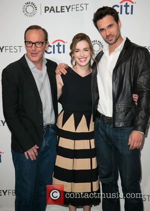 Clark Gregg, Elizabeth Henstridge and Brett Dalton - PaleyFest 2014 -