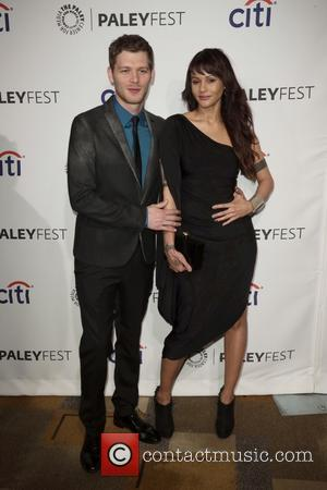 Joseph Morgan and Persia White - PaleyFest 2014 -