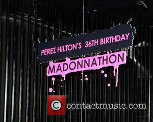 Perez Hilton hosts a Madonna themed party to celebrate his 36th Birthday - New York City, New York, United States...