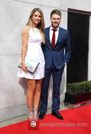 Brian McFadden and Vogue Williams - Tesco Mum of the Year Awards 2014 held at the Savoy - Arrivals -...