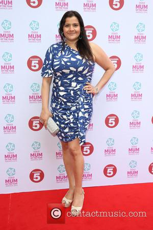 Nina Wadia - Tesco Mum of the Year Awards 2014 held at the Savoy - Arrivals - London, United Kingdom...
