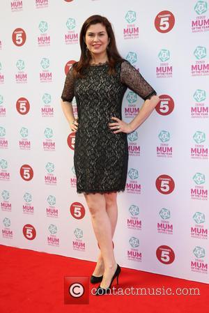Amanda Lamb - Tesco Mum of the Year Awards 2014 held at the Savoy - Arrivals - London, United Kingdom...