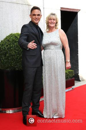Gareth Gates and Wendy Broadbent Farry - Tesco Mum of the Year Awards 2014 held at the Savoy - Arrivals...